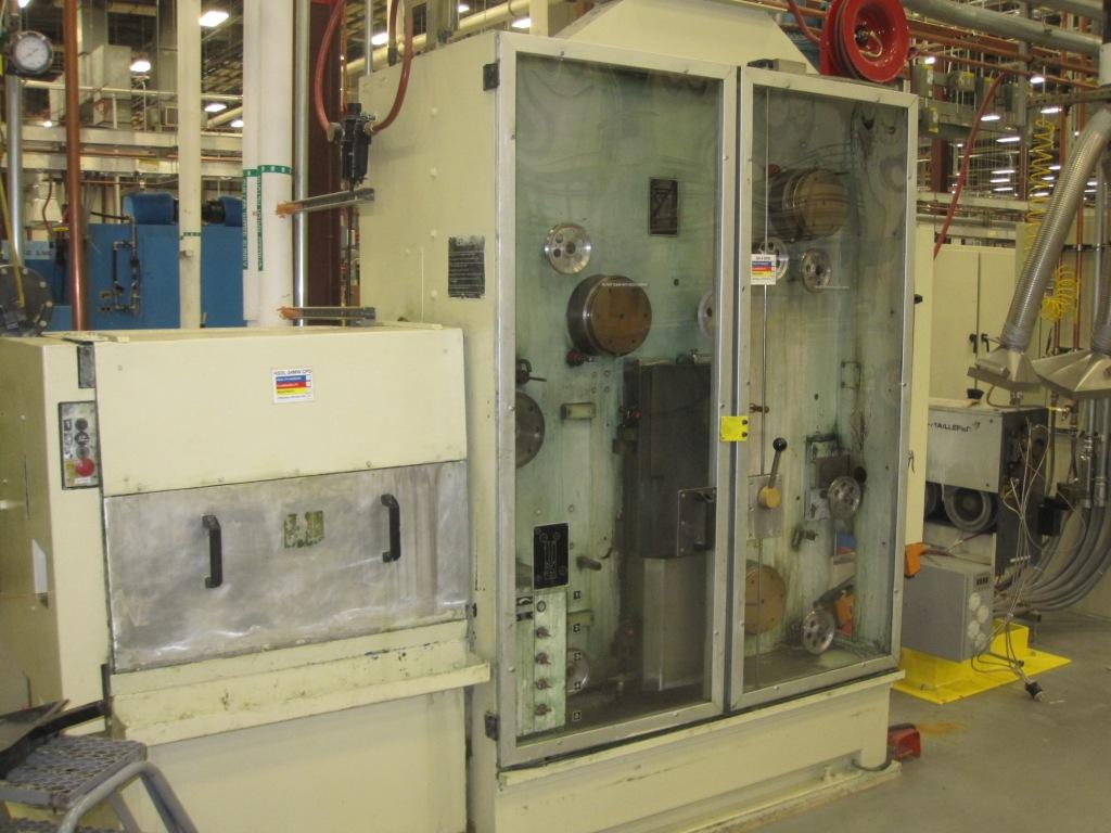 Niehoff MT-200 Fine Wire Drawing Machine with Annealer