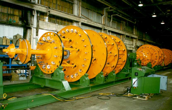 Wire And Cable Machinery I Reconditioning Projects