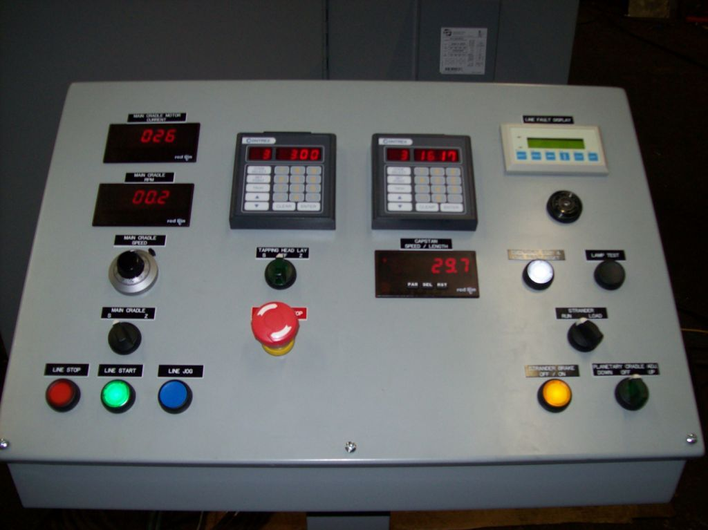 Watson Planteary Cabling Line Control Panel