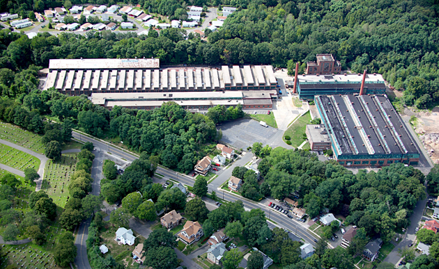 arial photo of headquarters
