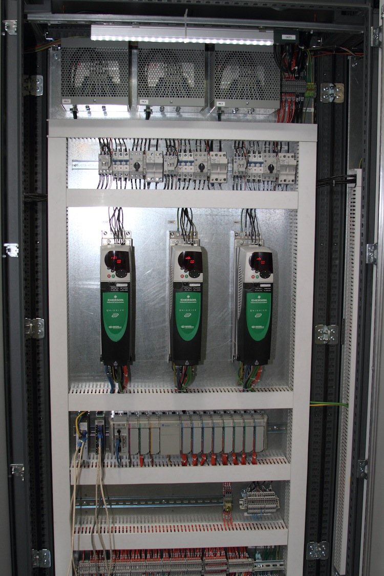 Tensor New Electrical Panel